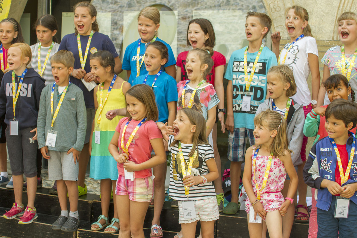 Starke Stimmen – Gesangsübungen mit Kindern
